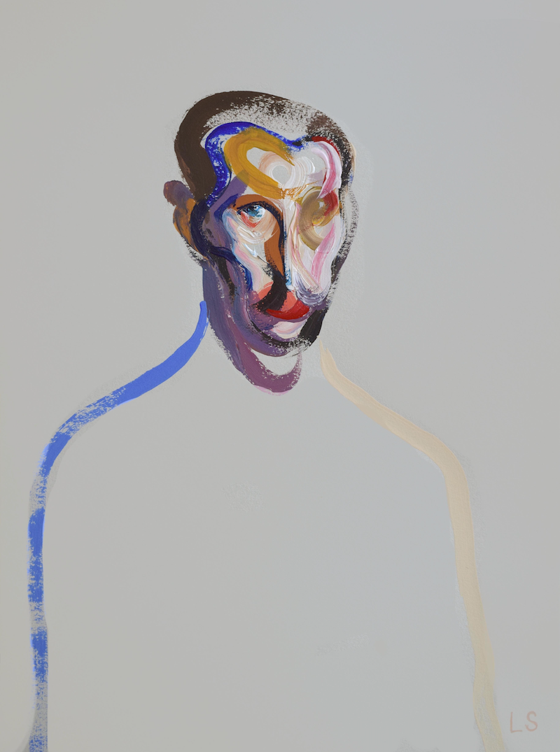 (CreativeWork) Homme 12 by Loribelle Spirovski. arcylic-painting. Shop online at Bluethumb.