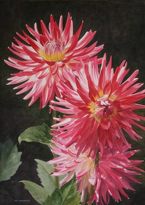 (CreativeWork) IN FOUNDER'S PARK by JAN LAWNIKANIS. Watercolour Paint. Shop online at Bluethumb.