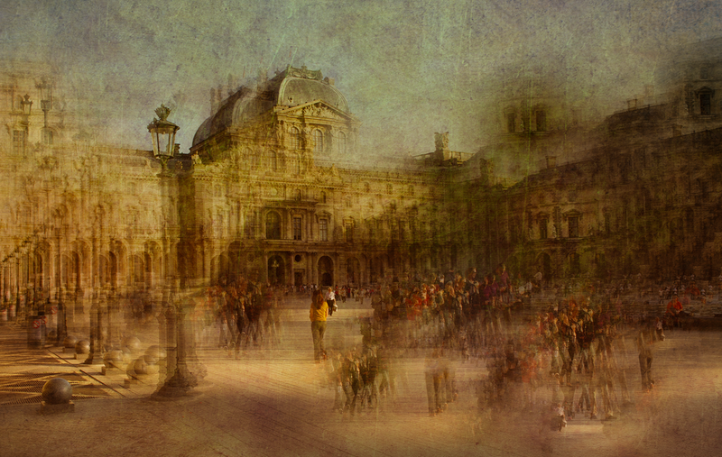 (CreativeWork) Going to The Louvre. by Joseph Remi d'Argent. photograph. Shop online at Bluethumb.