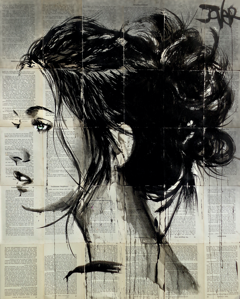 (CreativeWork) CROSSINGS by loui jover. drawing. Shop online at Bluethumb.