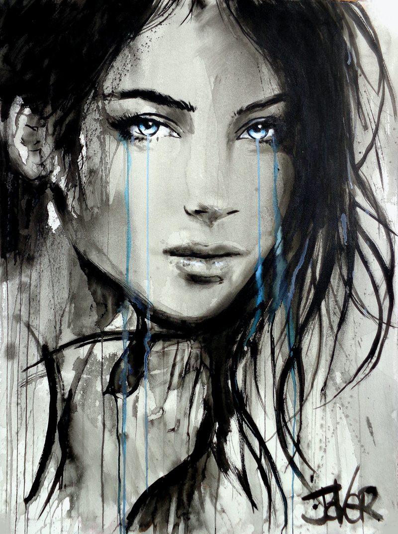 (CreativeWork) SHINE ON by loui jover. drawing. Shop online at Bluethumb.
