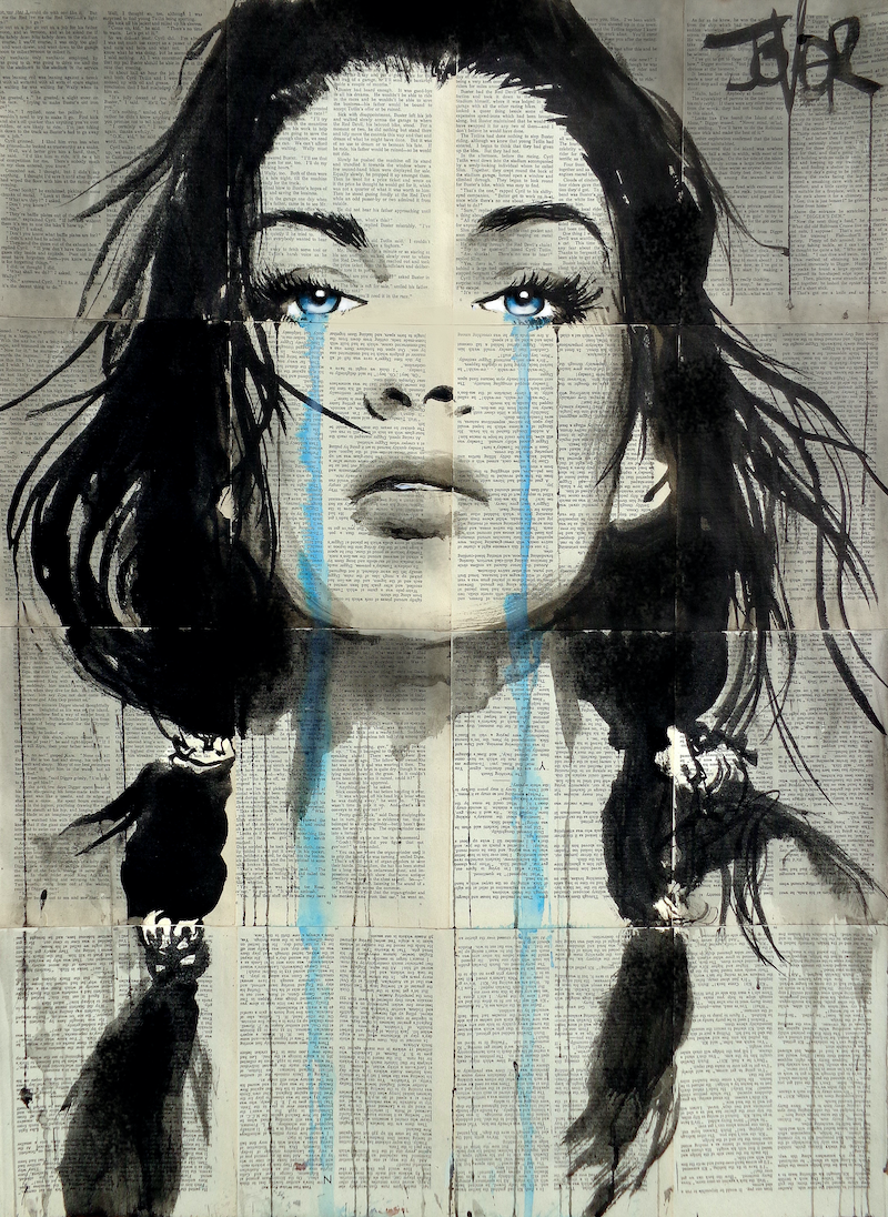 (CreativeWork) EVERLAST by loui jover. drawing. Shop online at Bluethumb.