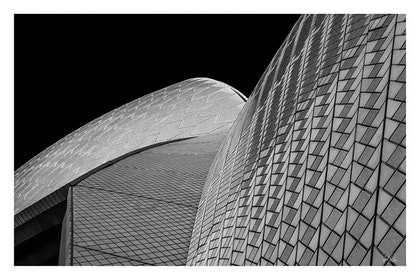 (CreativeWork) P 008 Sydney Opera roof by Peter Henning. photograph. Shop online at Bluethumb.