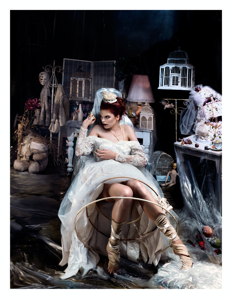 (CreativeWork) The Clash Series - Snow White's Lair by Alex Weltlinger. photograph. Shop online at Bluethumb.
