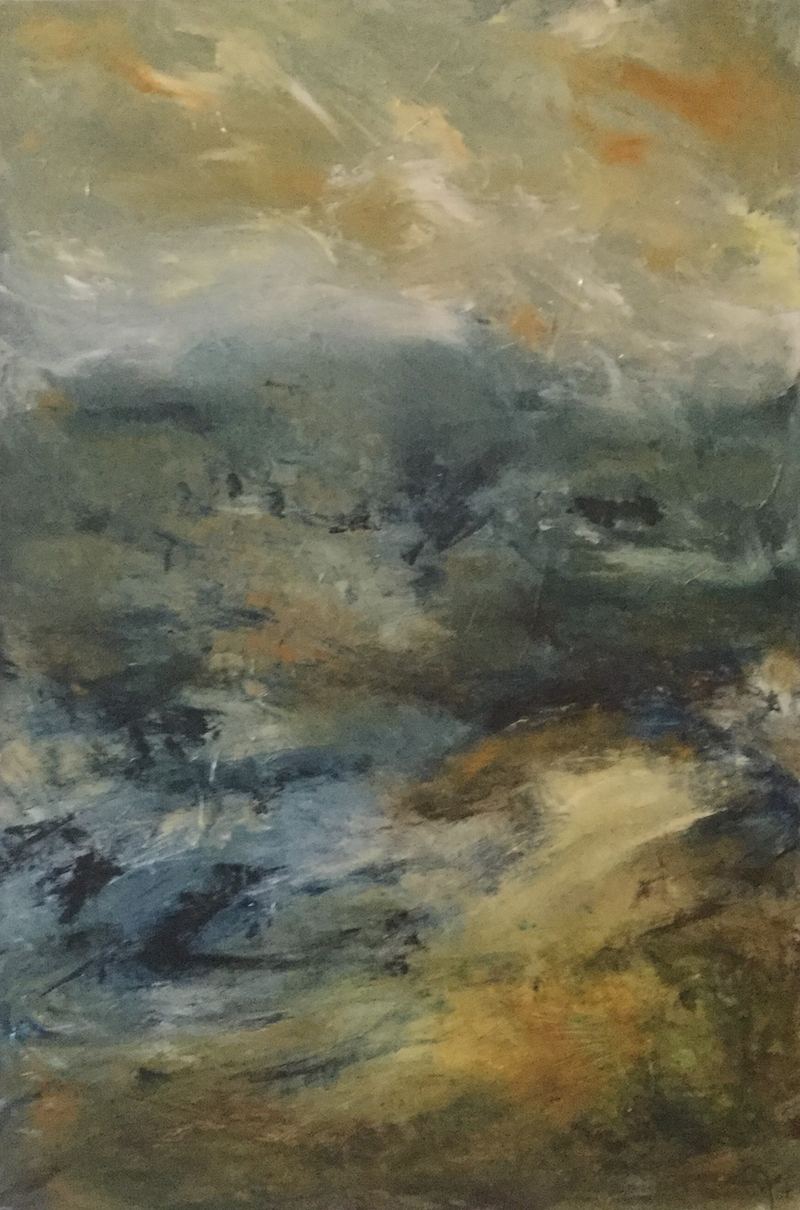 (CreativeWork) The Valley of Winds by Jayne Wise. arcylic-painting. Shop online at Bluethumb.