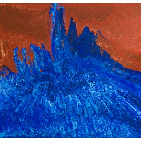 (CreativeWork) Awash, 97-17 by Daphne de Jersey. Acrylic Paint. Shop online at Bluethumb.