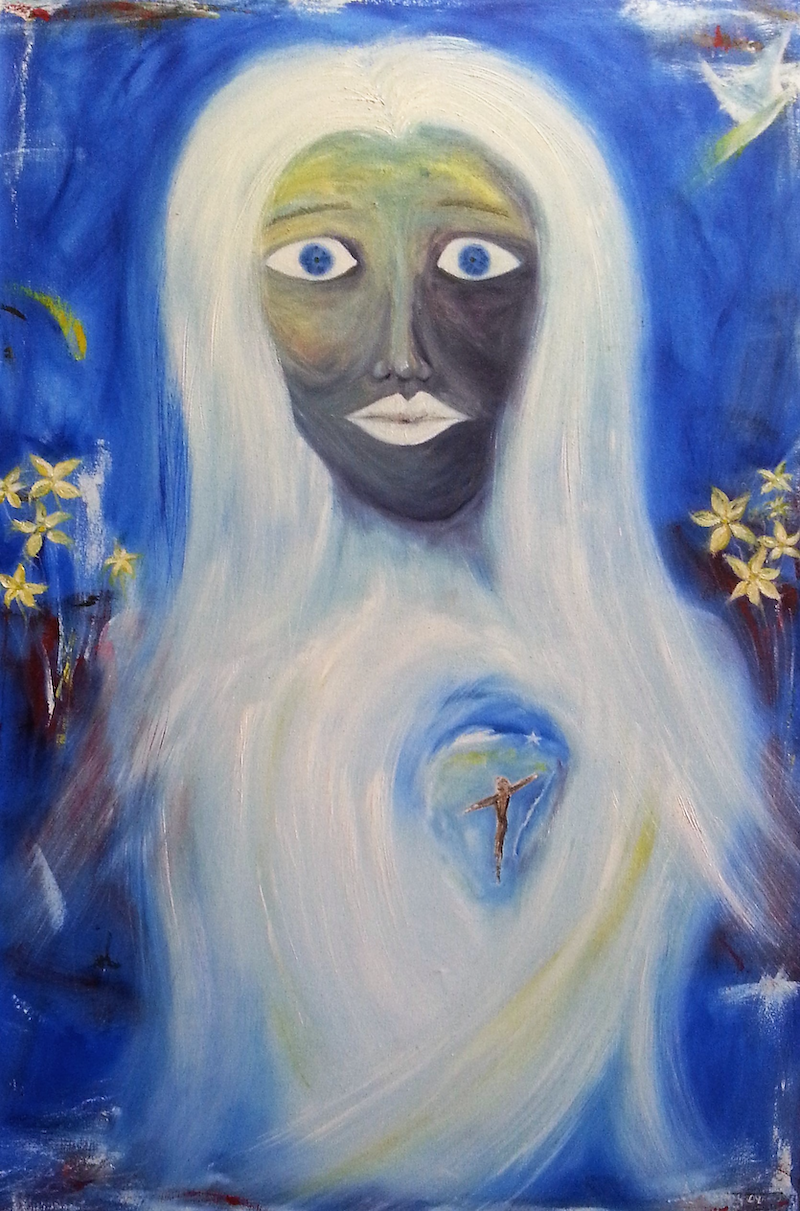 (CreativeWork) The Bride Of Christ by Garry Arnephy. oil-painting. Shop online at Bluethumb.