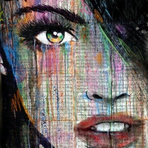 (CreativeWork) FAR AWAY IN TIME by loui jover. drawing. Shop online at Bluethumb.