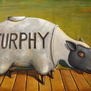 (CreativeWork) Furphy Yarn - Limited Edition Print Ed. 13 of 250 by Tank .. print. Shop online at Bluethumb.