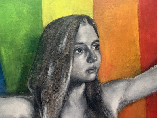 (CreativeWork) Respecting All Colours by Ilze Cant. Acrylic Paint. Shop online at Bluethumb.