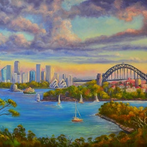 (CreativeWork) Sydney Harbour from Taronga Zoo - PRINT Limited edition 3 /100 Ed. 3 of 100 by Christopher Vidal. #<Filter:0x00007f995d4a9478>. Shop online at Bluethumb.