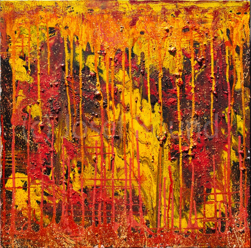 Shop CreativeWork Untitled Abstract Expressionist Painting By Josef Bound Arcylic