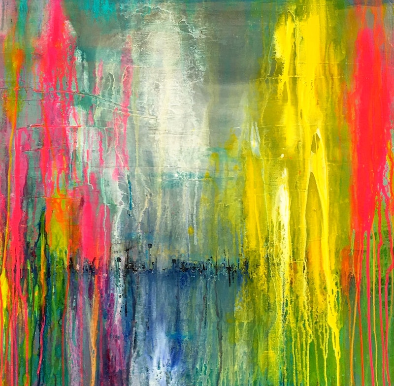 colour explosion by helene hardy paintings for sale bluethumb