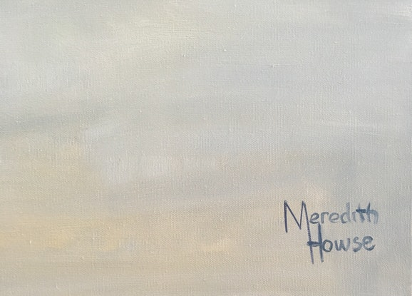 (CreativeWork) Lake Apex by Meredith Howse. Oil Paint. Shop online at Bluethumb.