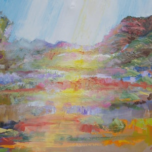 (CreativeWork) Aroona by Roland Weight. oil-painting. Shop online at Bluethumb.
