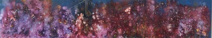 (CreativeWork) Riverfire  by Deb Brown. arcylic-painting. Shop online at Bluethumb.