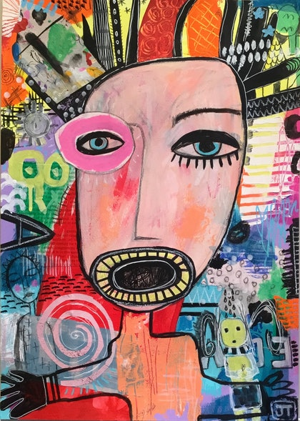(CreativeWork) Different Perspectives by Julia Trembicki. mixed-media. Shop online at Bluethumb.