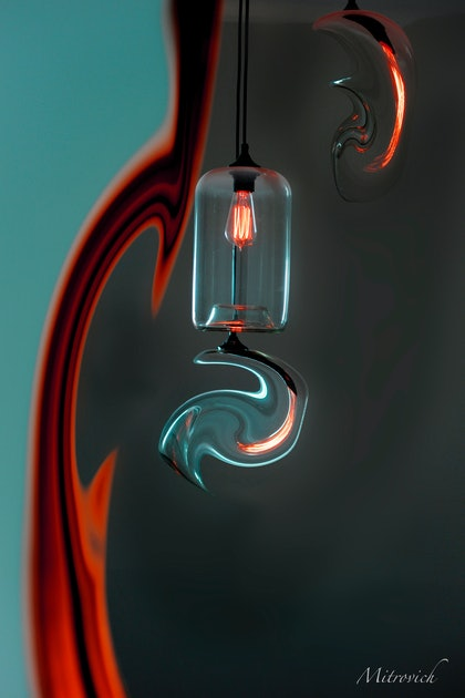 (CreativeWork) Melting Light Study#195 by Simon Mitrovich. photograph. Shop online at Bluethumb.