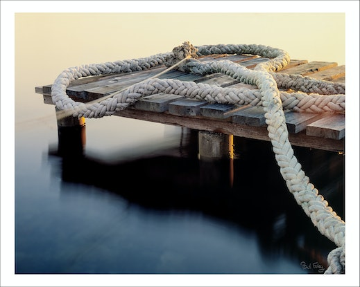 (CreativeWork) The Rope, Nords Wharf Ed. 2 of 5 by Paul Foley. Photograph. Shop online at Bluethumb.