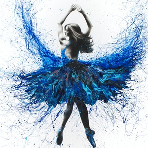 (CreativeWork) York Crystal Dance by Ashvin Harrison. arcylic-painting. Shop online at Bluethumb.