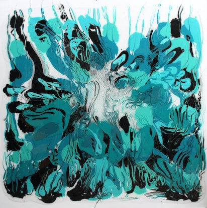 (CreativeWork) Into The Blue Ed. 1 of 15 by Annette Spinks. Print. Shop online at Bluethumb.