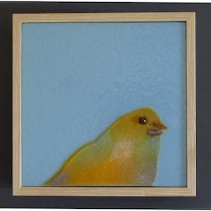 (CreativeWork) Birdie#5 by Grace Turner. other-media. Shop online at Bluethumb.