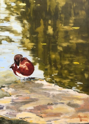 (CreativeWork) Precious by Meredith Howse. Oil Paint. Shop online at Bluethumb.