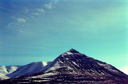 (CreativeWork) Pyramid Mountain by Marlaina Read. photograph. Shop online at Bluethumb.