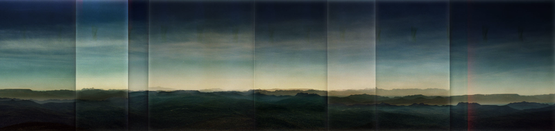 (CreativeWork) Box Brownie Colour Panorama #18 by Alice Blanch. photograph. Shop online at Bluethumb.
