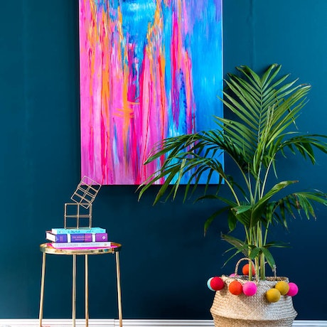 (CreativeWork) Shangri La by Anne-Maree Wise. Acrylic Paint. Shop online at Bluethumb.