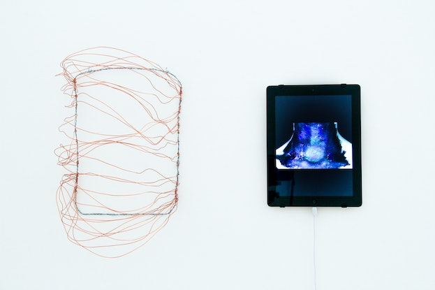 (CreativeWork) Revelare: Declaration (video and sculpture) by Felicity Townsend. Mixed Media. Shop online at Bluethumb.