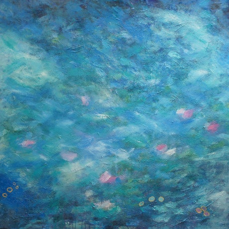 (CreativeWork) Noon by Bev Plowman. Acrylic Paint. Shop online at Bluethumb.