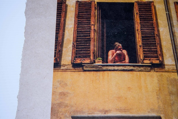 (CreativeWork) Room with a view by Ben Goh. Reproduction Print. Shop online at Bluethumb.