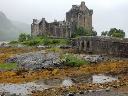 (CreativeWork) Eilean Donan Castle by Stella Kassapidis. photograph. Shop online at Bluethumb.