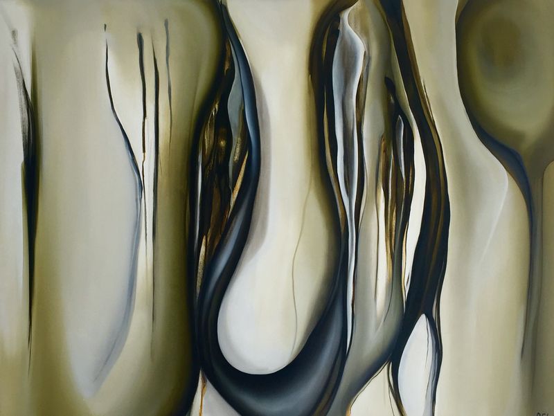 (CreativeWork) Olive  by Rachael Foley. oil-painting. Shop online at Bluethumb.