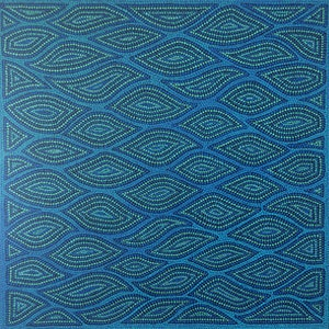 (CreativeWork) Tranquil Seas by Tarnia Raynal. arcylic-painting. Shop online at Bluethumb.