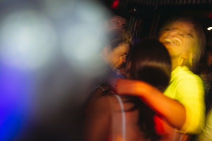 (CreativeWork) untitled party scene by Megan George. photograph. Shop online at Bluethumb.