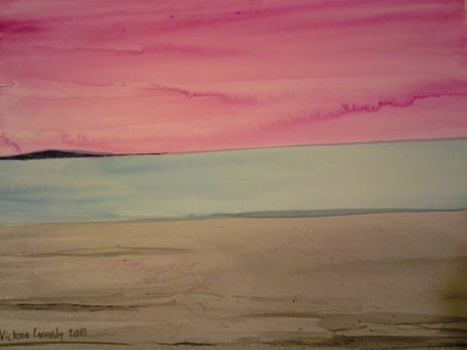 (CreativeWork) It is there to see by Victoria Carmody. watercolour. Shop online at Bluethumb.