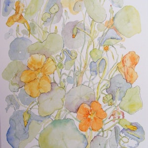"(CreativeWork) ""The Sacrificial Plant"" by Daniela Selir. watercolour. Shop online at Bluethumb."