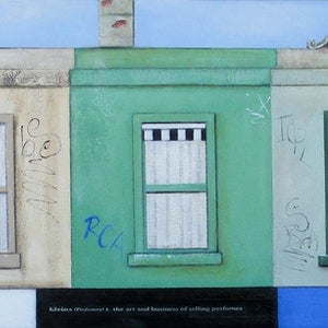 (CreativeWork) Brunswick Street Strip 1 by Pauline Bailey. mixed-media. Shop online at Bluethumb.