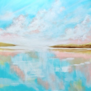 (CreativeWork) Peace Be Still by Colleen Palmer. arcylic-painting. Shop online at Bluethumb.