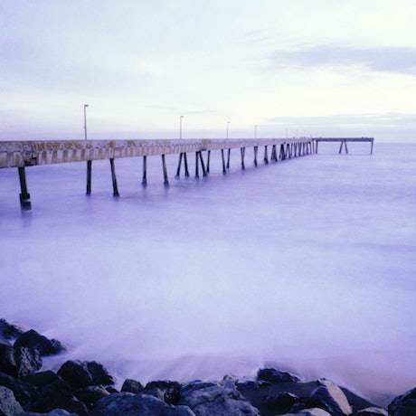 (CreativeWork) Pacifica Pier Ed. 1 of 10 by Hugh Hamilton. Photograph. Shop online at Bluethumb.