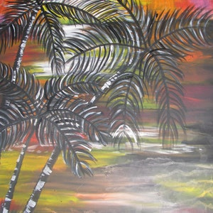 (CreativeWork) Leave Your Worries  by Rebecca Sutton. arcylic-painting. Shop online at Bluethumb.