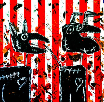 (CreativeWork) Good Taste II by Leith Kennedy. Mixed Media. Shop online at Bluethumb.