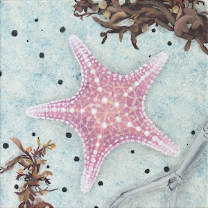 (CreativeWork) Washed Up by Jessica Fittock. mixed-media. Shop online at Bluethumb.