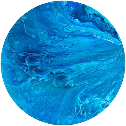 (CreativeWork) Ebb and Flow by Virginia Harding. arcylic-painting. Shop online at Bluethumb.