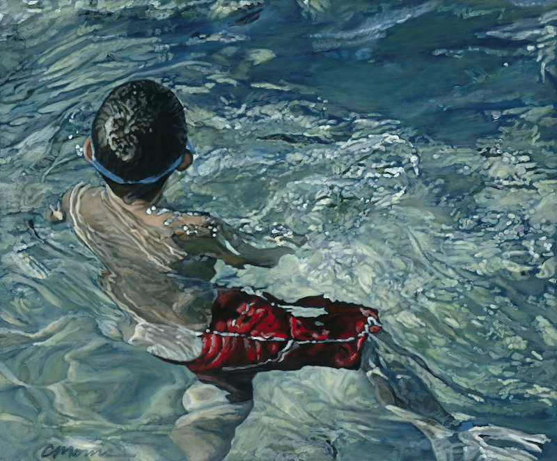 (CreativeWork) Cool Water Ed. 9 of 100 by Camellia Morris. print. Shop online at Bluethumb.