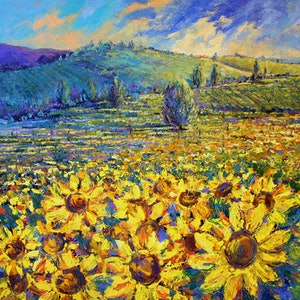 (CreativeWork) 'Heart of Tuscany' Limited Edition Giclee Print by Tracey Creighton. other-media. Shop online at Bluethumb.