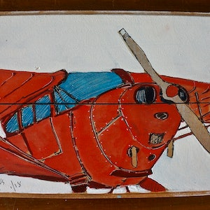 (CreativeWork) Aeronika Chief by angus macdiarmid. watercolour. Shop online at Bluethumb.