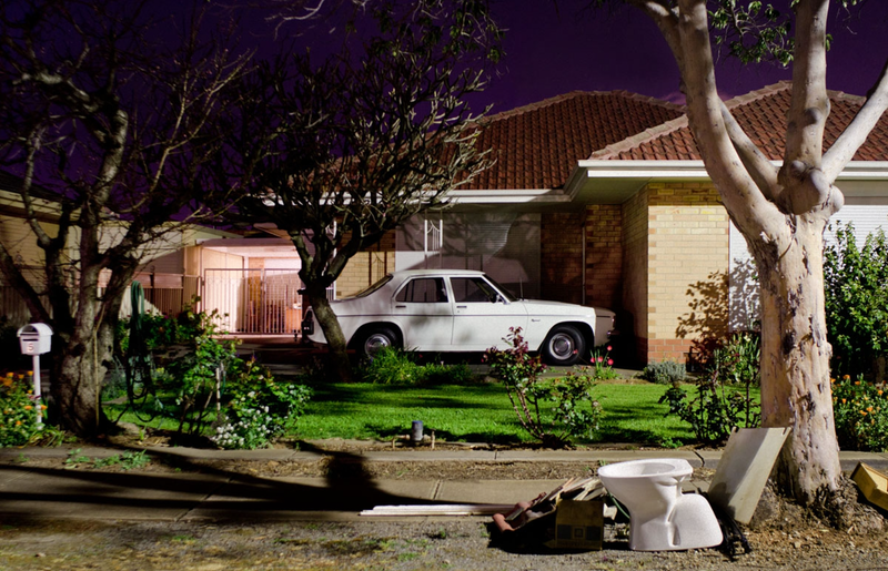 (CreativeWork) Holden and Hard Rubbish by Alex Frayne. photograph. Shop online at Bluethumb.